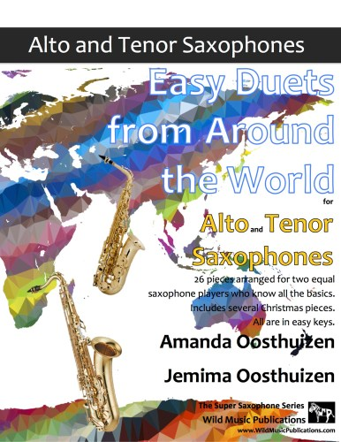 Easy Duets from Around the World for Alto and Tenor Saxophones