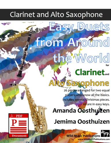 Easy Duets from Around the World for Clarinet and Alto Saxophone Download
