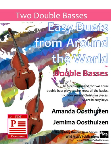 Easy Duets from Around the World for Double Basses Download