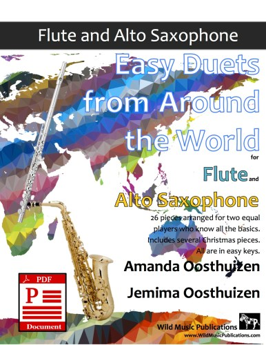 Easy Duets from Around the World for Flute and Alto Saxophone Download