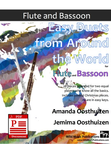 Easy Duets from Around the World for Flute and Bassoon Download
