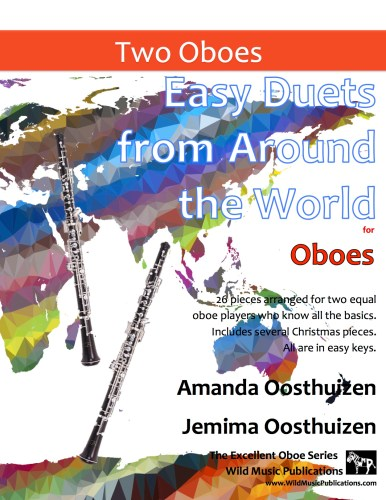 Easy Duets from Around the World for Oboes