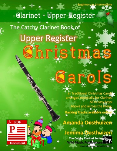 The Catchy Clarinet Book of Upper Register Christmas Carols Download