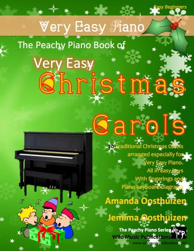 The Peachy Piano Book of Very Easy Christmas Carols