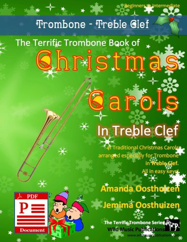The Terrific Trombone Book of Christmas Carols in Treble Clef Download