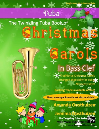 The Twinkling Tuba Book of Christmas Carols in Bass Clef