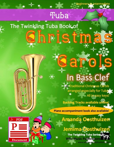 The Twinkling Tuba Book of Christmas Carols in Bass Clef Download