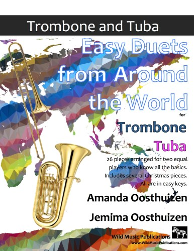Easy Duets from Around the World for Trombone and Tuba