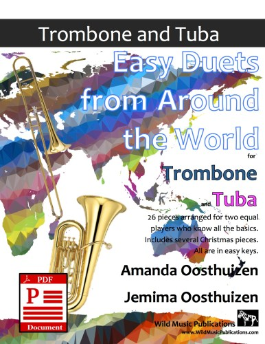 Easy Duets from Around the World for Trombone and Tuba Download