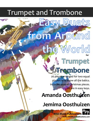 Easy Duets from Around the World for Trumpet and Trombone
