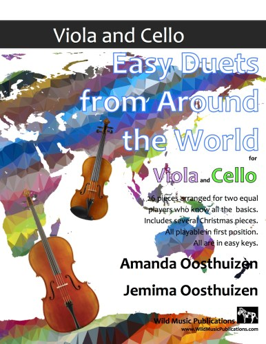 Easy Duets from Around the World for Viola and Cello
