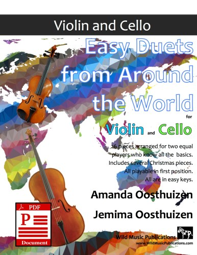 Easy Duets from Around the World for Violin and Cello Download