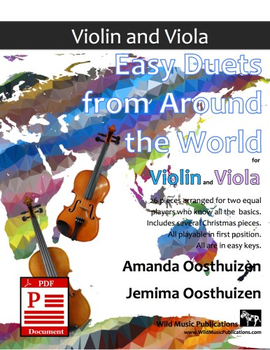 Easy Duets from Around the World for Violin and Viola Download