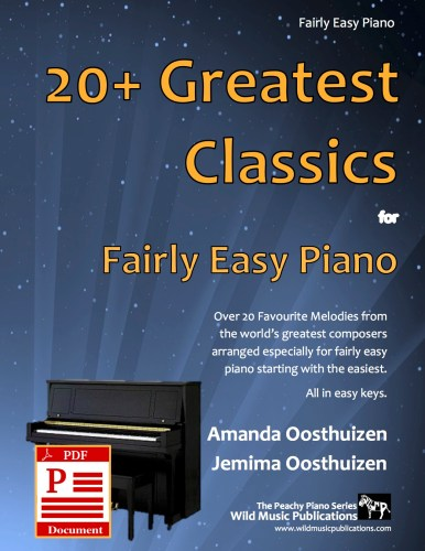 20+ Greatest Classics for Fairly Easy Piano Download