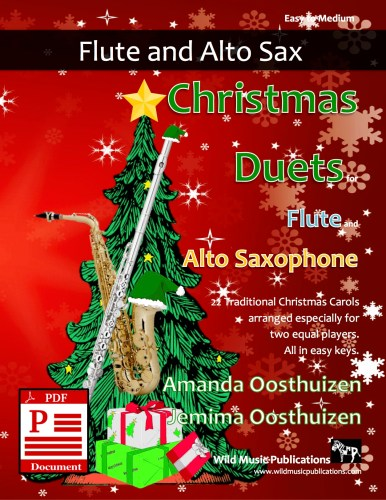 Christmas Duets for Flute and Alto Saxophone Download