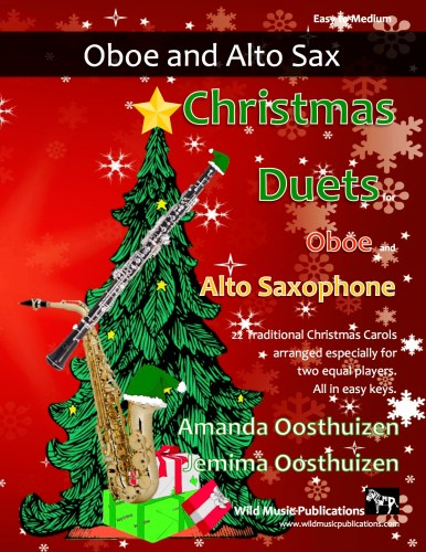 Christmas Duets for Oboe and Alto Saxophone