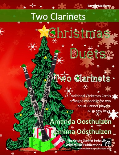 Christmas Duets for Two Clarinets
