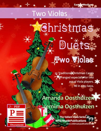 Christmas Duets for Violas Download