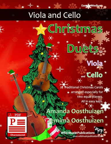 Christmas Duets for Viola and Cello Download
