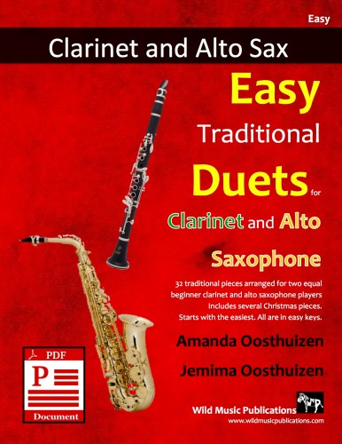Easy Traditional Duets for Clarinet and Alto Saxophone Download