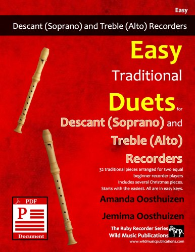Easy Traditional Duets for Descant and Treble Recorders Download