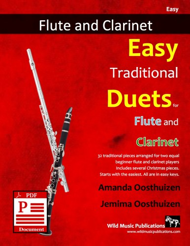 Easy Traditional Duets for Flute and Clarinet Download