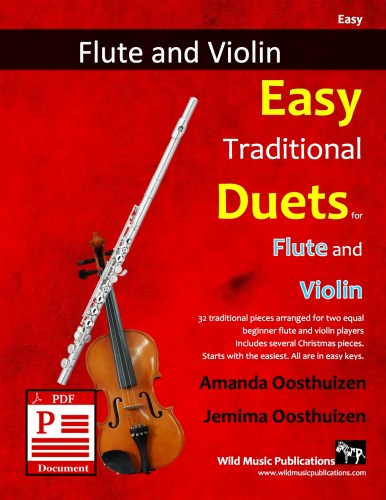 Easy Traditional Duets for Flute and Violin Download