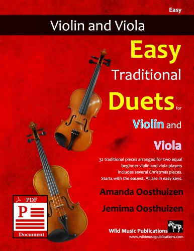 Easy Traditional Duets for Violin and Viola Download