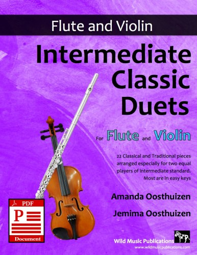Intermediate Classic Duets for Flute and Violin Download