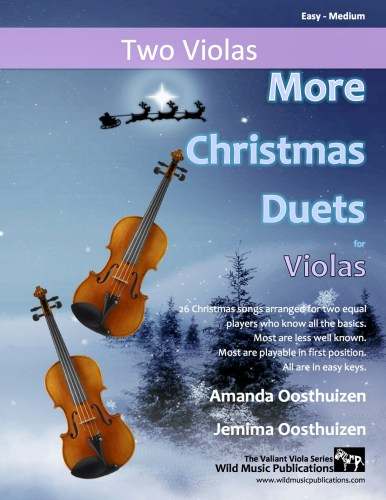 More Christmas Duets for Violas