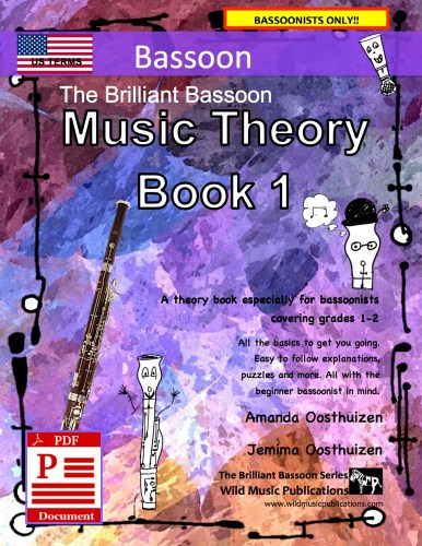 The Brilliant Bassoon Music Theory Book 1 - US Terms Download
