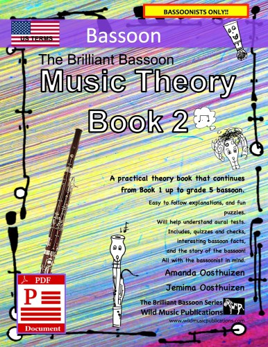 The Brilliant Bassoon Music Theory Book 2 - US Terms Download