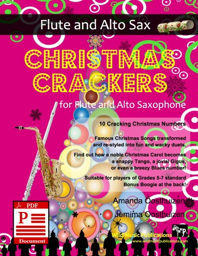 Christmas Crackers for Flute and Alto Saxophone Download