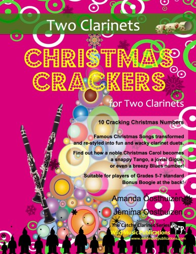 Christmas Crackers for Two Clarinets