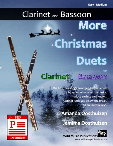 More Christmas Duets for Clarinet and Bassoon Download