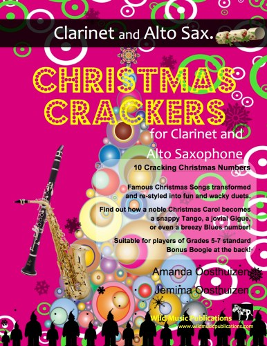 Christmas Crackers for Clarinet and Alto Saxophone