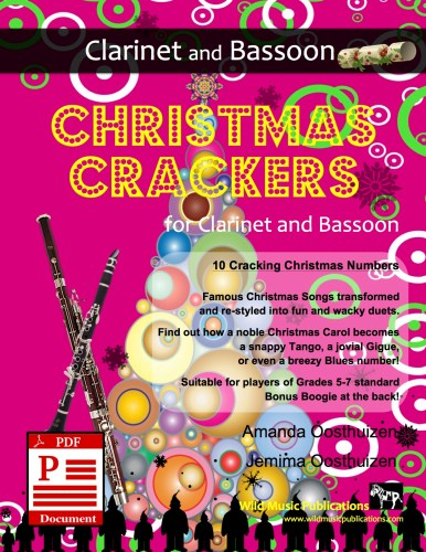 Christmas Crackers for Clarinet and Bassoon Download