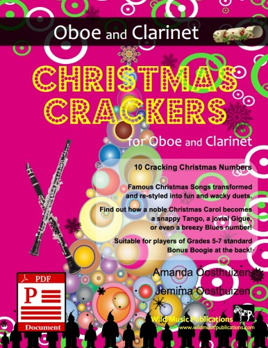 Christmas Crackers for Oboe and Clarinet Download