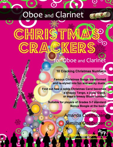 Christmas Crackers for Oboe and Clarinet