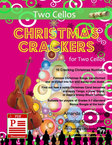 Christmas Crackers for Two Cellos Download