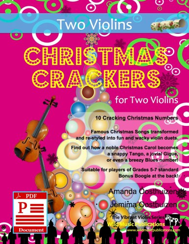 Christmas Crackers for Two Violins Download
