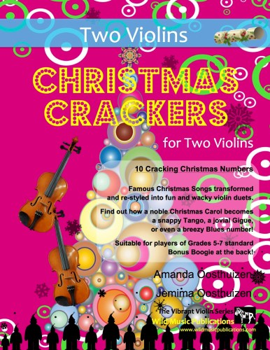 Christmas Crackers for Two Violins