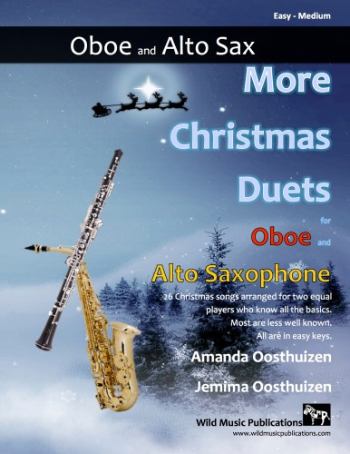 More Christmas Duets for Oboe and Alto Saxophone