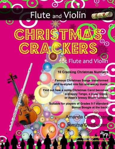 Christmas Crackers for Flute and Violin