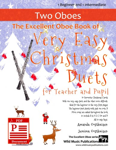The Excellent Oboe Book of Very Easy Christmas Duets for Teacher and Pupil Download