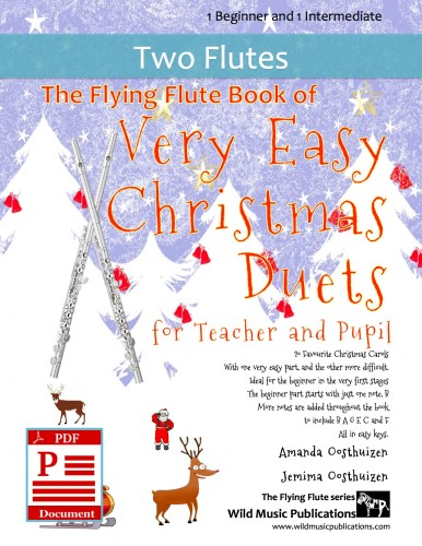 The Flying Flute Book of Very Easy Christmas Duets for Teacher and Pupil Download