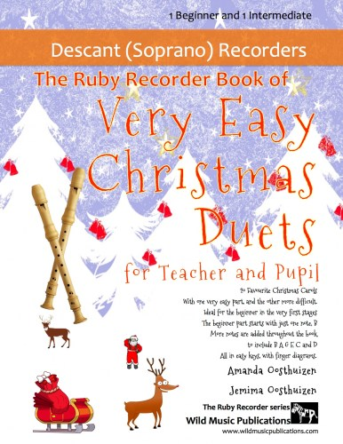 The Ruby Recorder Book of Very Easy Christmas Duets for Teacher and Pupil