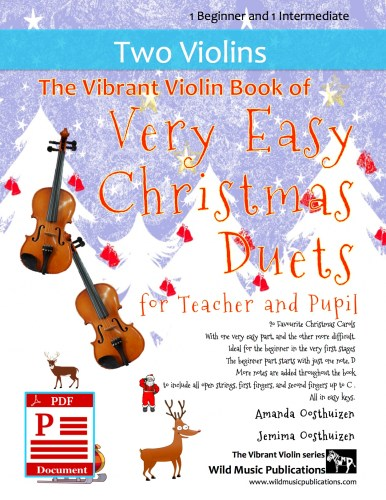 The Vibrant Violin Book of Very Easy Christmas Duets for Teacher and Pupil Download