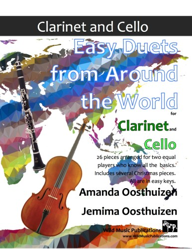 Easy Duets from Around the World for Clarinet and Cello