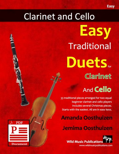 Easy Traditional Duets for Clarinet and Cello Download